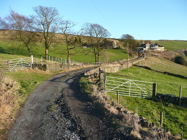 Siddal Top Lane, Halifax