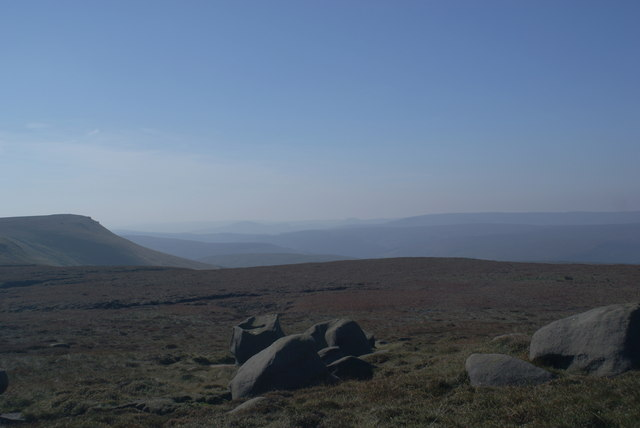 The top of Margery Hill