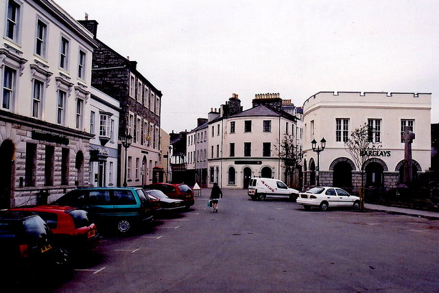 Castletown - Market Square, Arbory St, Malew St
