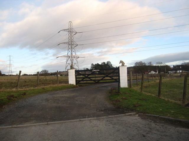 Entrance to Longlea