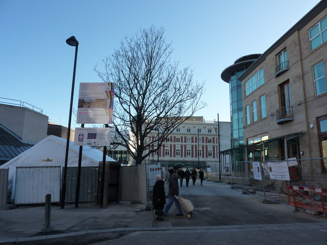 A New Tudor Square, Sheffield