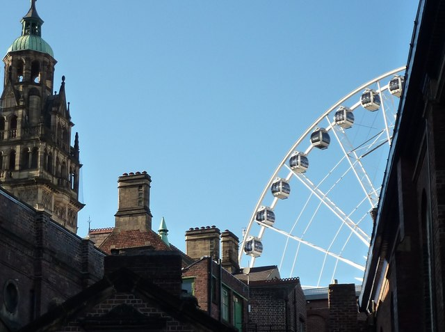 Town Hall and Big Wheel