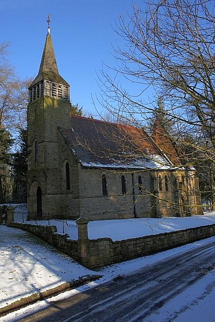 Chapel, Easby Hall
