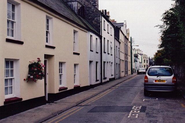 Castletown - Arbory Street - Northwest end