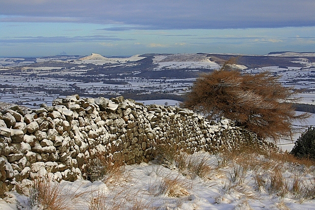 Wall, Carr Ridge