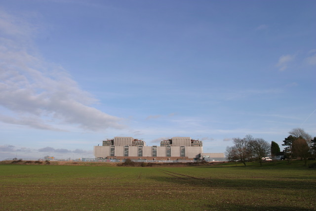 Bradwell nuclear power station (disused)