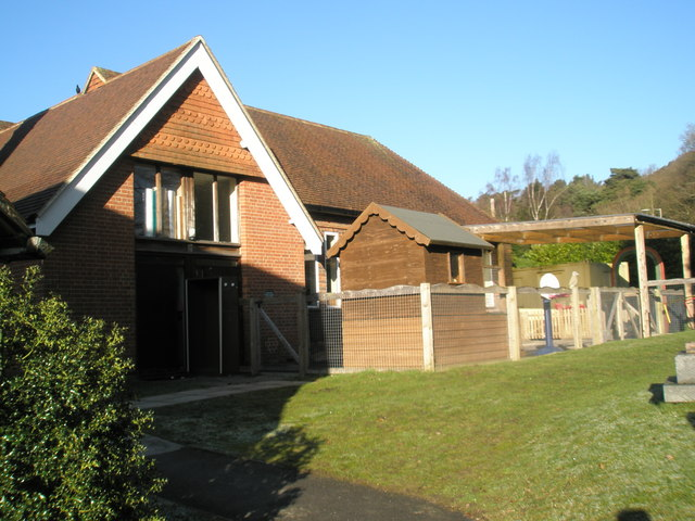 Church hall at St Stephen's, Shottermill