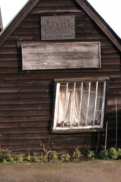 Crooked windowed cottage