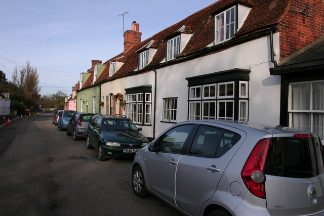 Cottages in Bradwell on Sea
