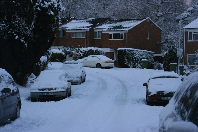 Snow, St Michael's Rd