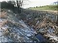 NS7477 : Kelvin Water near Craigmarloch Bridge by Robert Murray