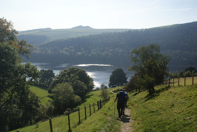Path alongside Grindle Clough