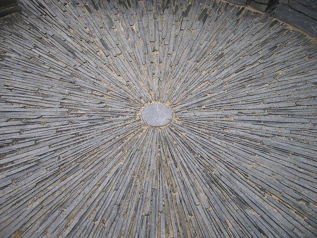 Patterned floor, Foel Fadian toposcope