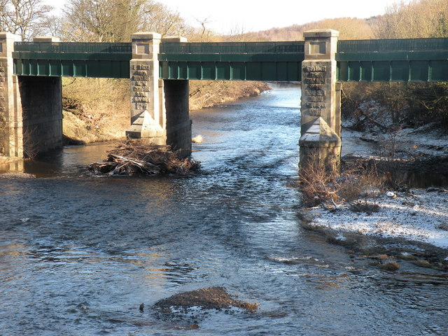Croxdale Road Bridge over the River Wear
