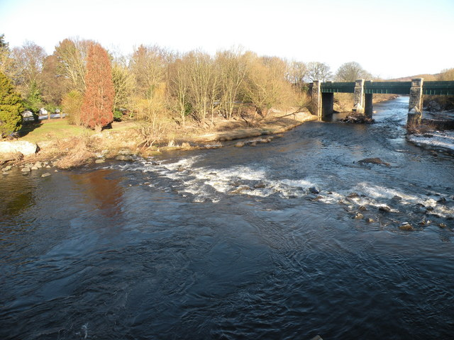 The River Wear at Sunderland Bridge