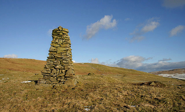 A cairn on Holmhead Hill
