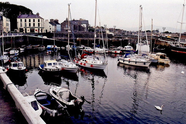 Castletown - Quay, Silver Burn River, and harbour
