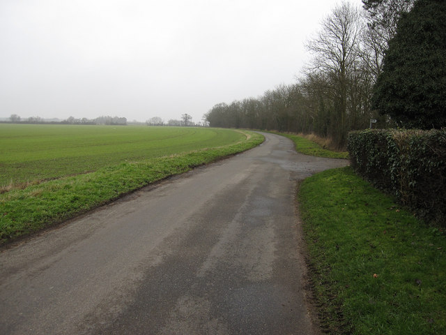Road past Underwood Hall