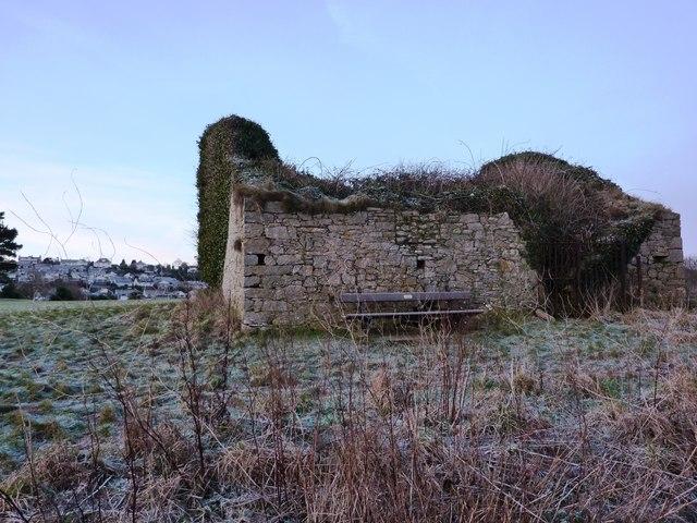 Ruined Building, Public Golf Course, near Elberry Cove