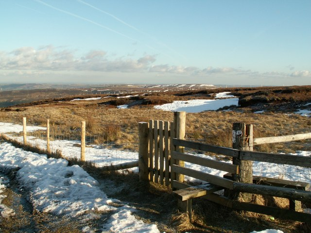 New gate to open access moorland