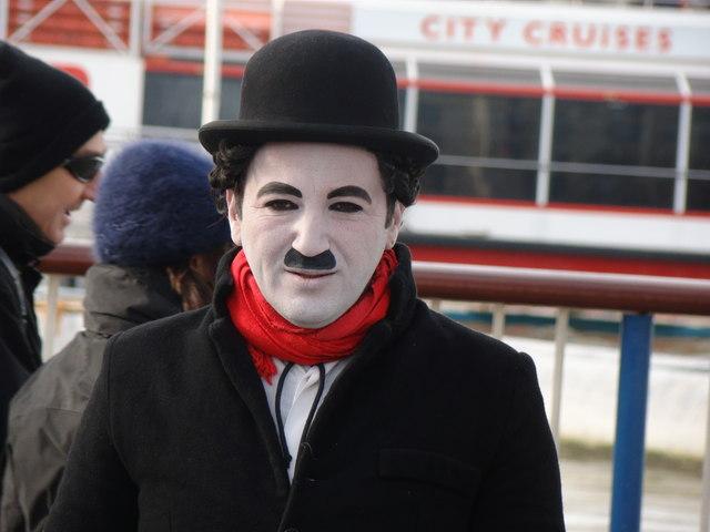 The reincarnation of Charlie Chaplin!