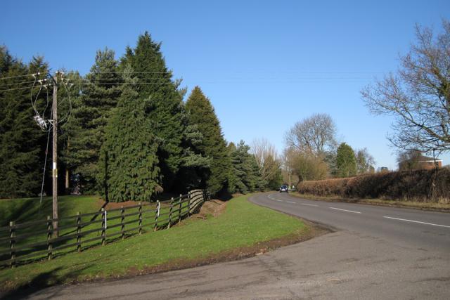 Entrance to Glebe Farm