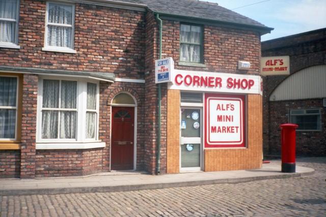 The Corner Shop - Coronation Street set