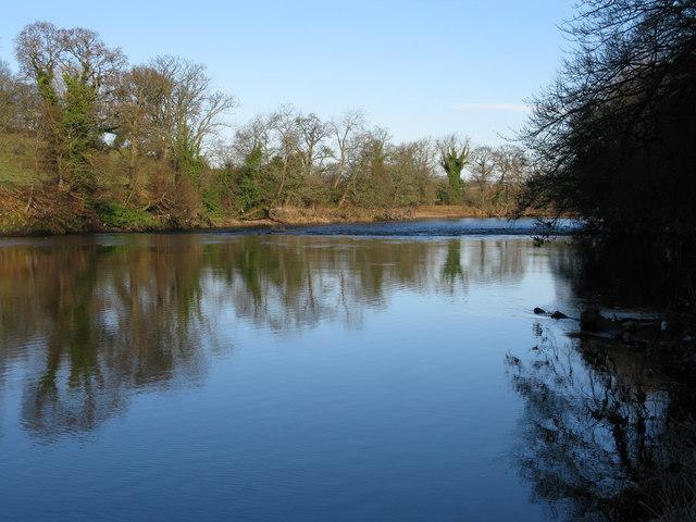 River Clyde near Uddingston