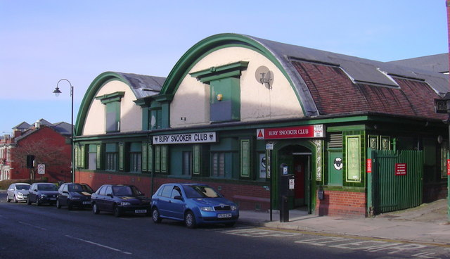 Bury Snooker Club 66 Bolton Street