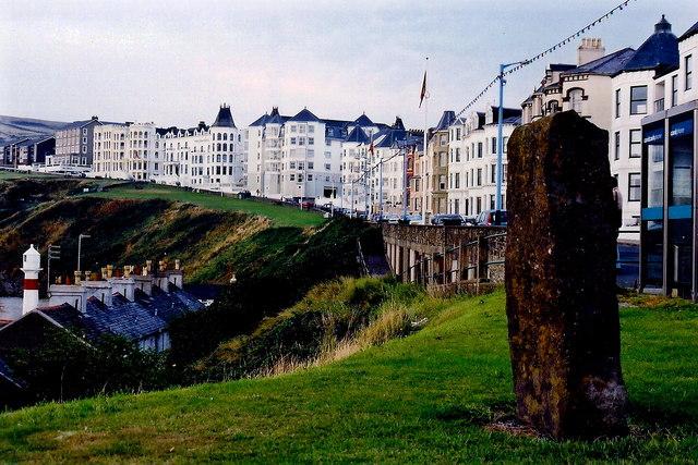 Port Erin - Buildings along the Promenade