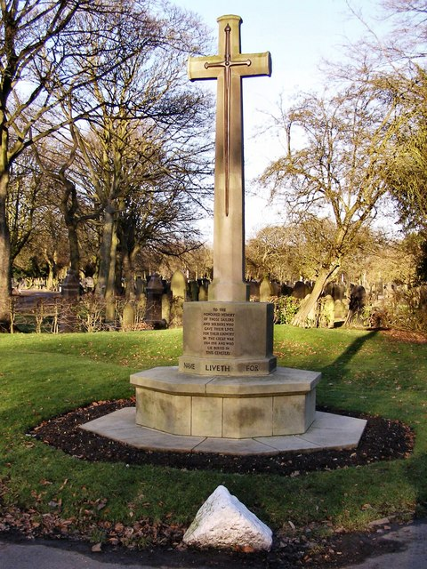 War Memorial, Bury Cemetery