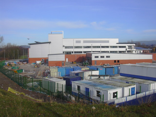 Bury's new £20 million divisional police headquarters under construction which is due to open in the Spring of 2010