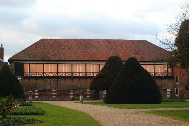 Tennis Court, at Hampton Court Palace