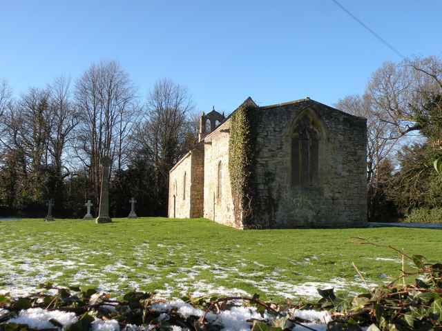 Old chapel at Croxdale Hall