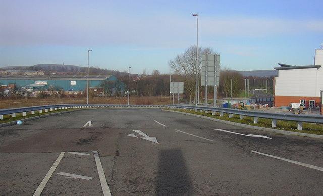 Development Site Access Road