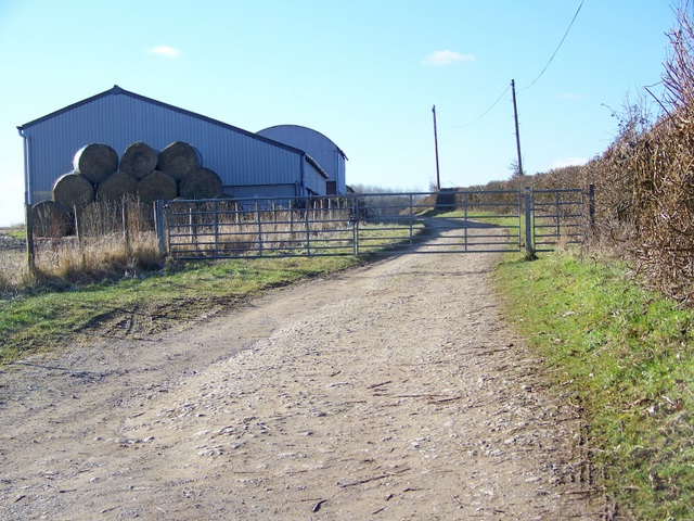 Farm buildings near Eastleach Turville