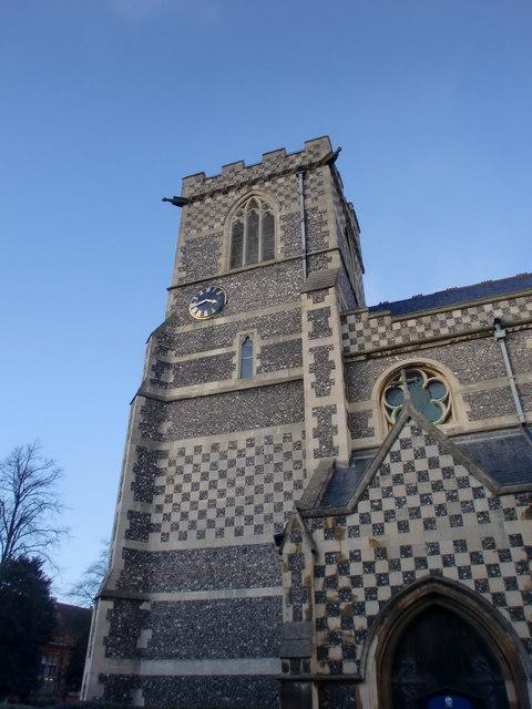 Church Tower, St John the Baptist, Barnet, Hertfordshire