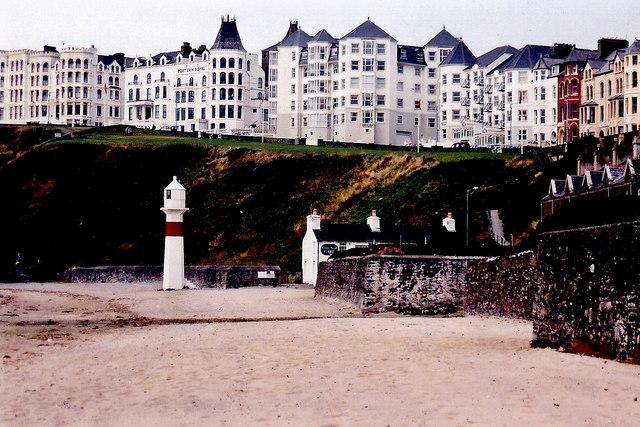 Port Erin - Port Erin Beach and Promenade buildings