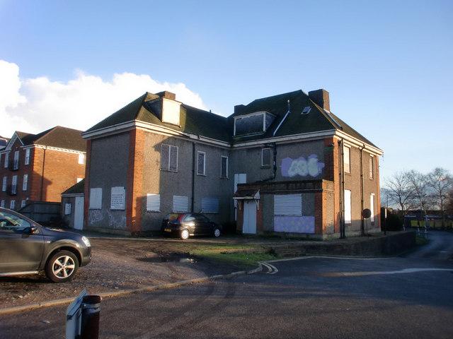 Derelict Building, Wood Street, Barnet, Hertfordshire