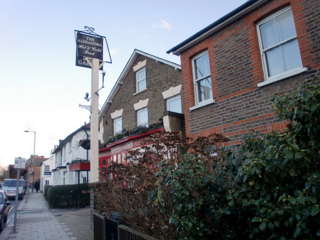 The Alexandra Public House, Wood Street, Barnet