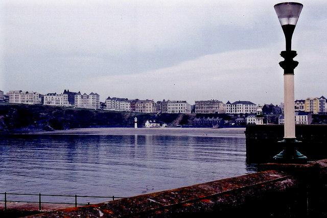 Port Erin - Port Erin Bay and Promenade buildings