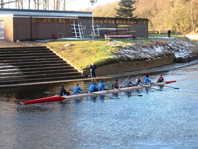 Rowing on the River Wear