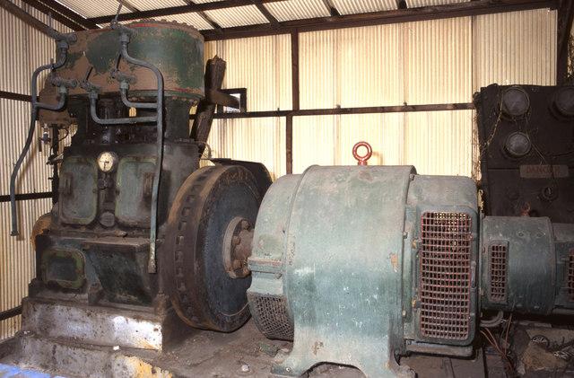 Steam engine, A Dyke & Sons, Netherhall Nursery, Roydon