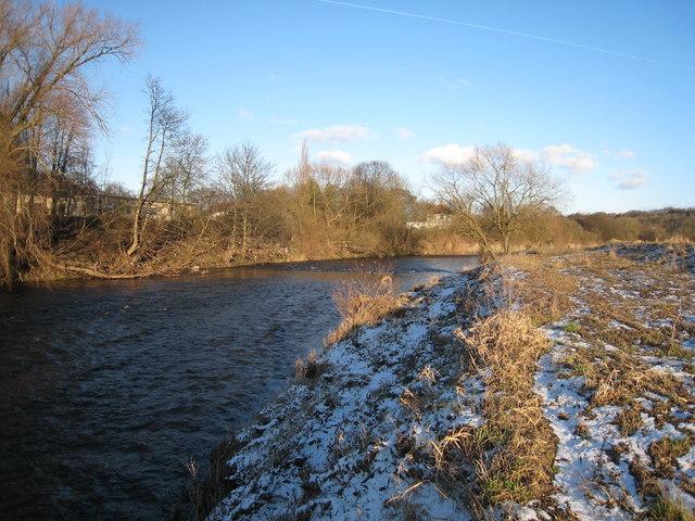 River Wear leaving Durham City