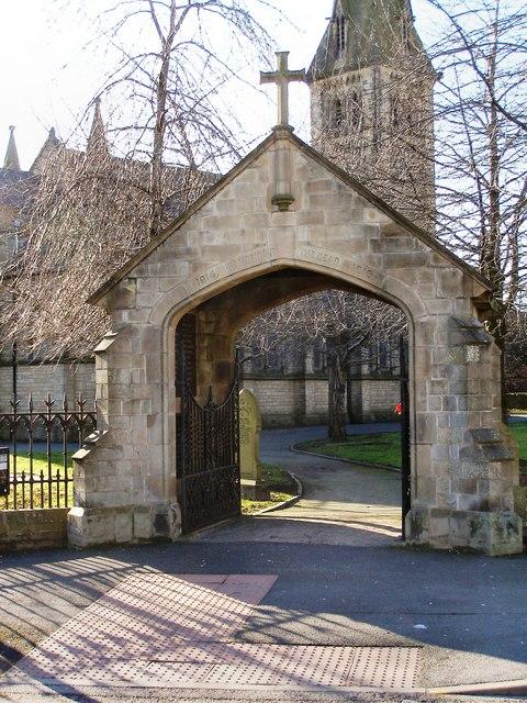 St Stephen's Lychgate, Guide Bridge