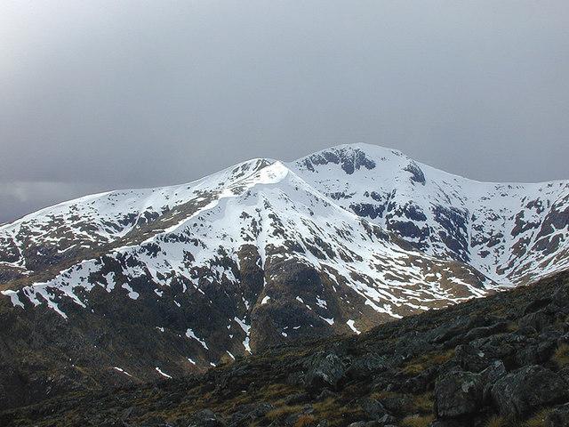 View towards Stob Ghabhar