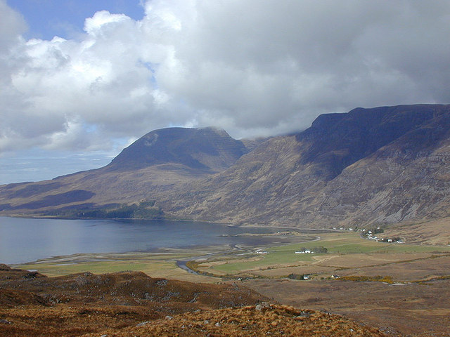View north west from near Carn Dhonnachadh