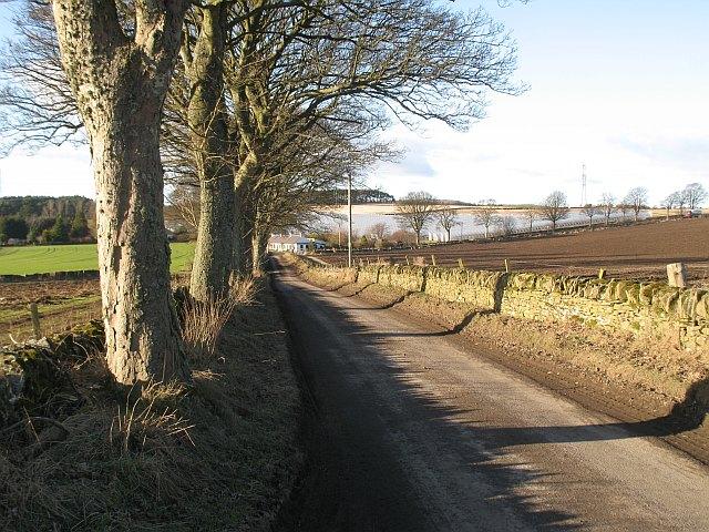 Minor road, Muirloch