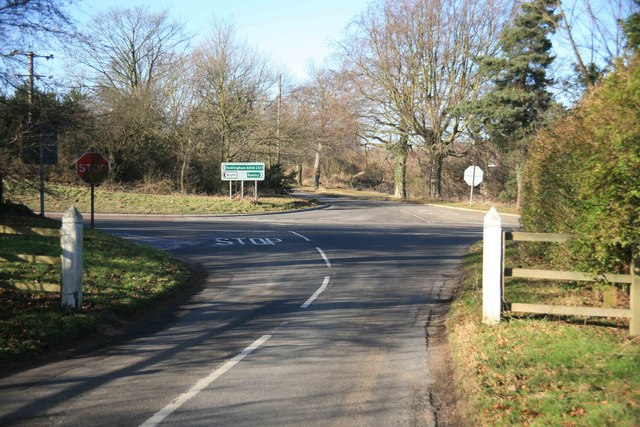 Road Junction with the A614