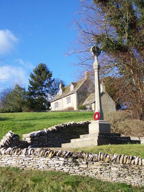 War Memorial, Eastleach Martin